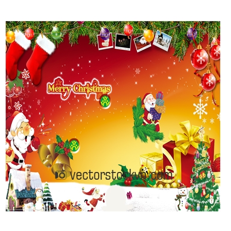 Christmas Vector photoshop.